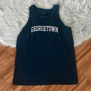 Georgetown college tank top